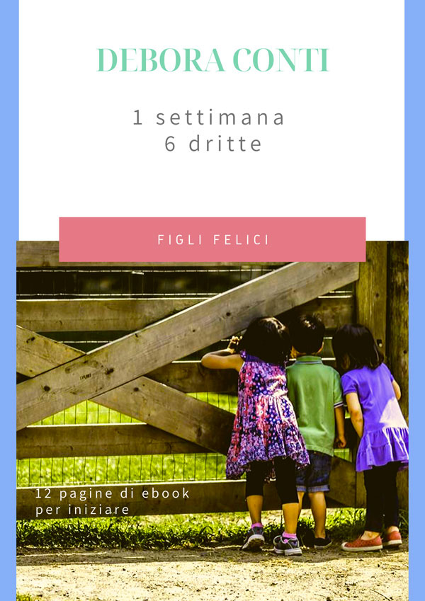 Parent coaching & Auto-aiuto ebook gratuito per genitori.